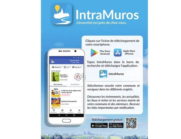 Application mobile IntraMuros